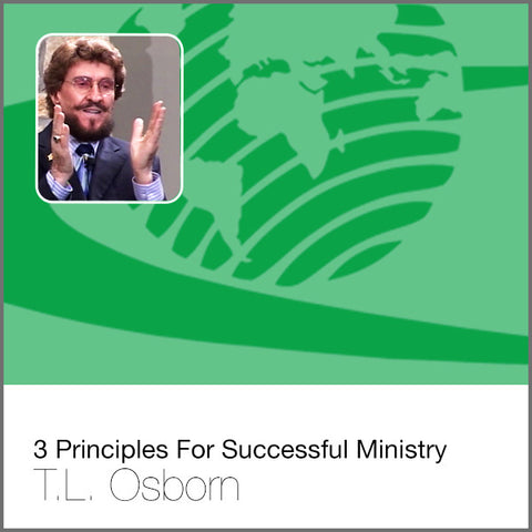 3 Principles For Successful Ministry - Audio CD
