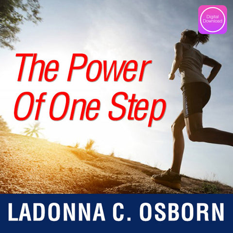 The Power of One Step - Digital Download