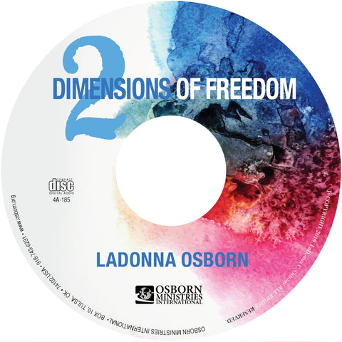 2 DIMENSIONS OF FREEDOM - Audio CD