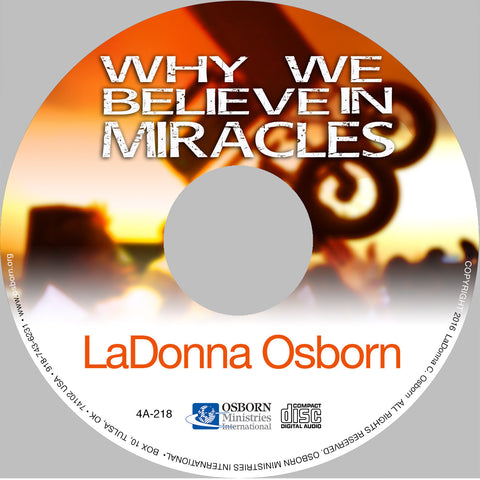 Why We Believe In Miracles CD