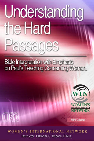Understanding the Hard Passages - Course on 11 Audio CDs