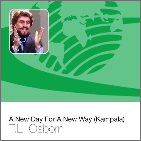 A New Day For A New Way (Kampala) - Audio CD