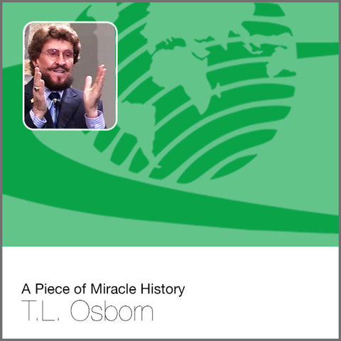 A Piece of Miracle History (Historic Audio 1950) - Audio CD