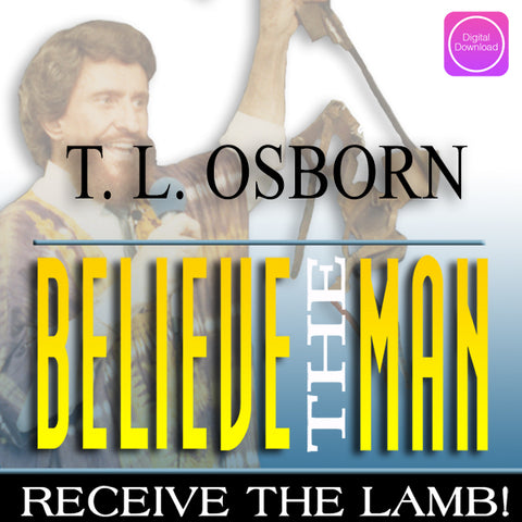 Believe The Man 3 Part Series - Digital Audio