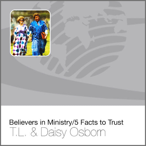 Believers in Ministry/5 Facts to Trust - CD
