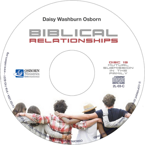 Biblical Relationships - CD (14)