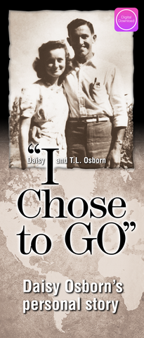 I Chose To Go Book - Digital Book