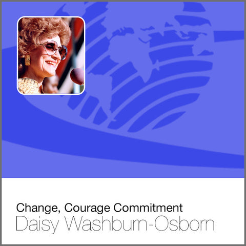 Change, Courage Commitment - CD