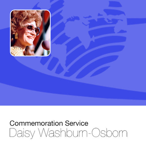 Commemoration Service - DWO (1924-1995)- Audio CD