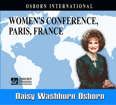 Women's Conference Paris, France - 6 Audio CDs - English or French
