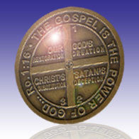 The Gospel Icon Medallion Coin