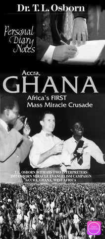 Personal Diary Notes - Accra, Ghana - Digital Book