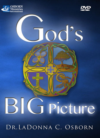 God's Big Picture 4 DVDs or 4 CDs + FREE BOOK!