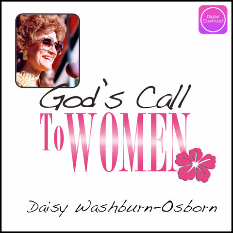 God's Call to Women - Digital Audio