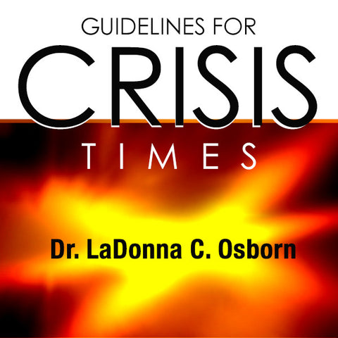 Guidelines For Crisis Times - Audio CD