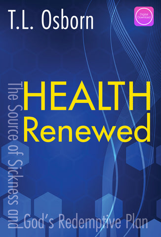Health Renewed - Digital Book