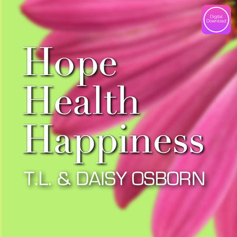 Hope Health Happiness - Digital Audio