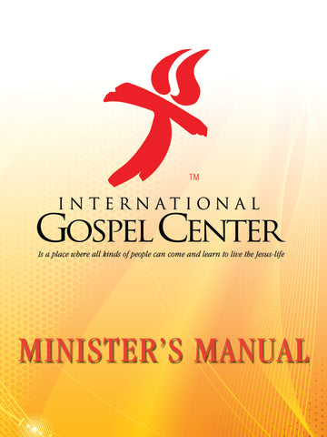 IGC Clergy Manual - Paperback