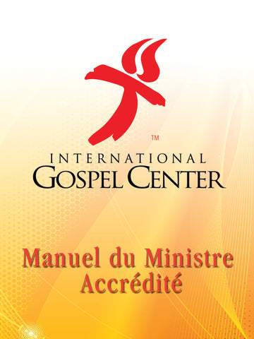 IGC Clergy Manual - Paperback | French