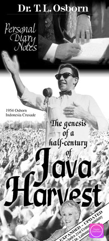 Personal Diary Notes - 1954 Indonesia Crusade - Digital Book