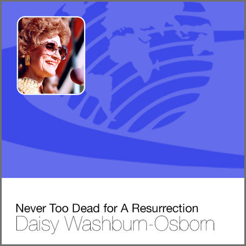 Never Too Dead for A Resurrection - CD
