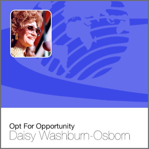 Opt For Opportunity - Audio CD