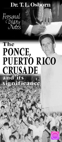 Personal Diary Notes - Puerto Rico Crusade - Digital Book