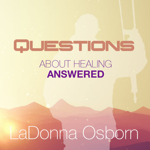Questions About Healing Answered - CD (1)