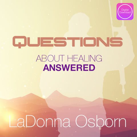 Questions About Healing Answered - Digital Audio