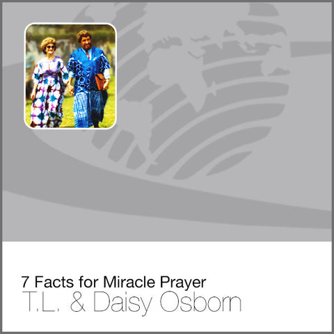 7 Facts for Miracle Prayer - Audio CD