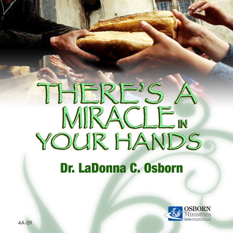 There's a Miracle in Your Hands - CD