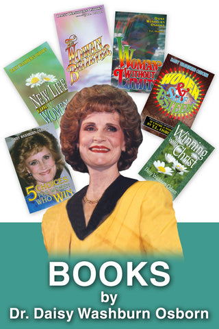 6 Books by Daisy Washburn-Osborn - Paperback
