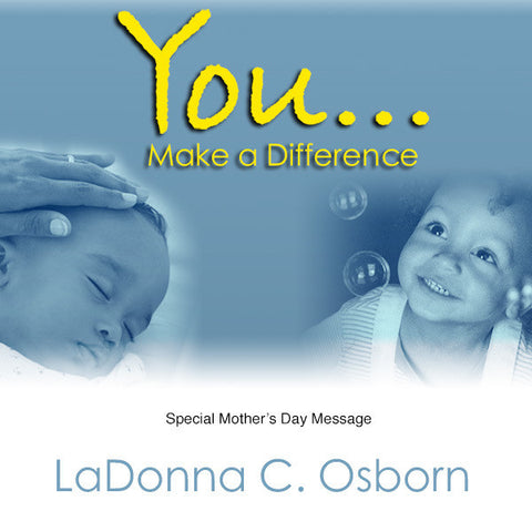 You Make A Difference - Audio CD
