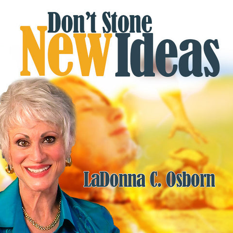 Don't Stone New Ideas - Audio CD