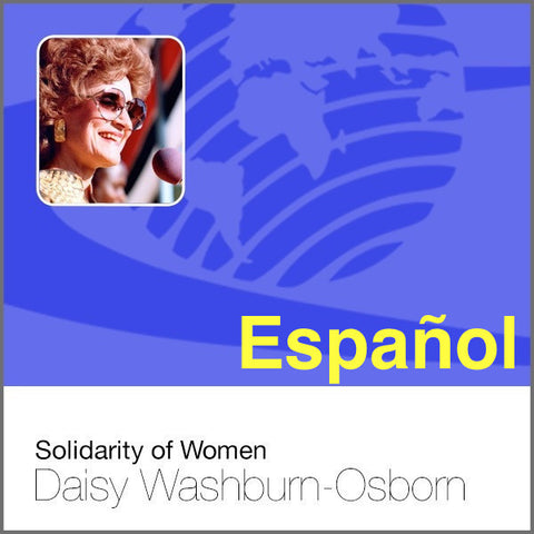 Solidarity of Women - Spanish - CD