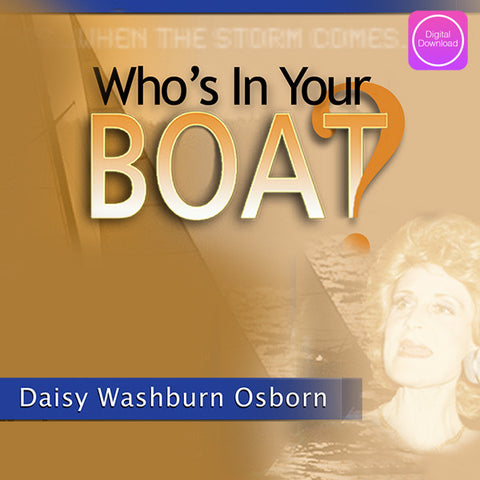 Who's In Your Boat? - Digital Audio