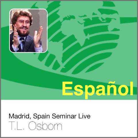 Madrid, Spain Seminar Live - Complete Set of 9 Audio CDs
