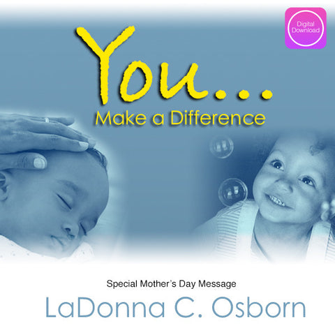 You Make A Difference - Digital Download