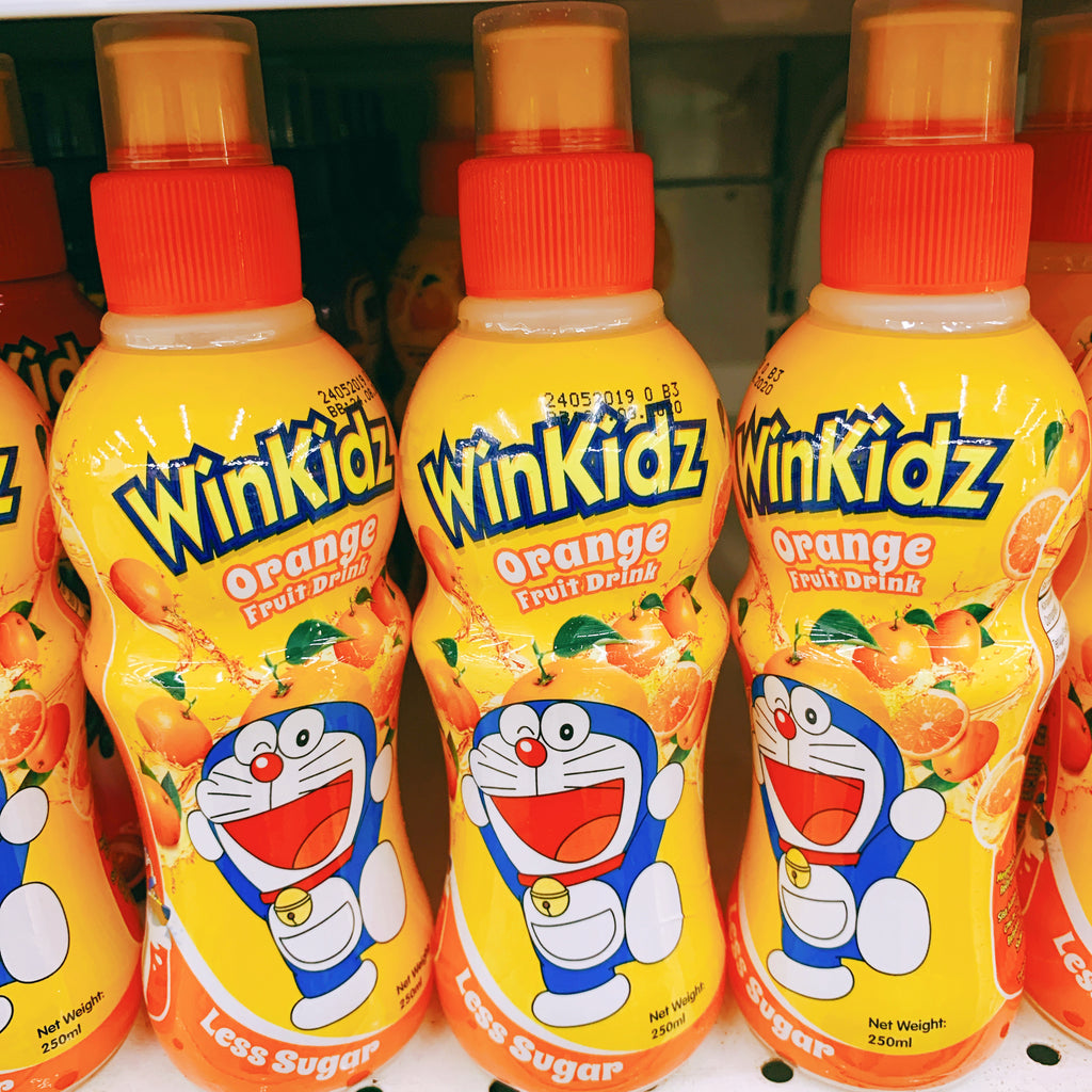 WinKidz - Flavoured Drink Orange (250ml)