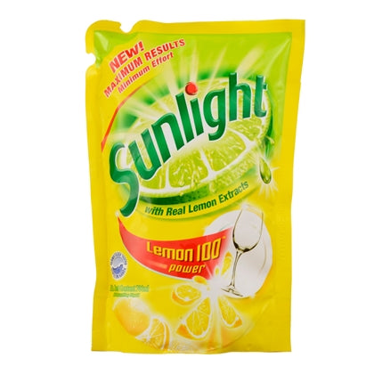 Sunlight - Dishwashing Liquid Refill Yellow (750ml)