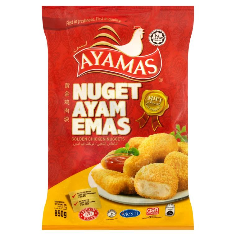 Ayamas - Golden Chicken Nuggets (850g)