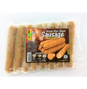 Bibik's Choice - Chicken Black Pepper Sausage (470g)