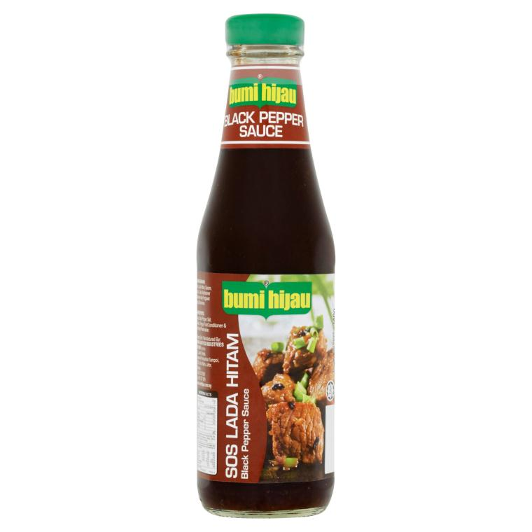 Bumi Hijau - Black Pepper Sauce (340g)