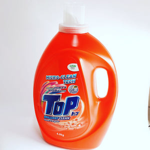 Promo - Top Laundry Detergent Liquid Red (4kg)
