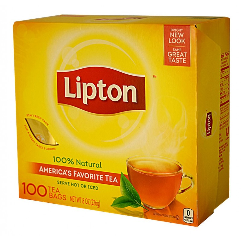 Lipton - Tea bag (100 per pack)