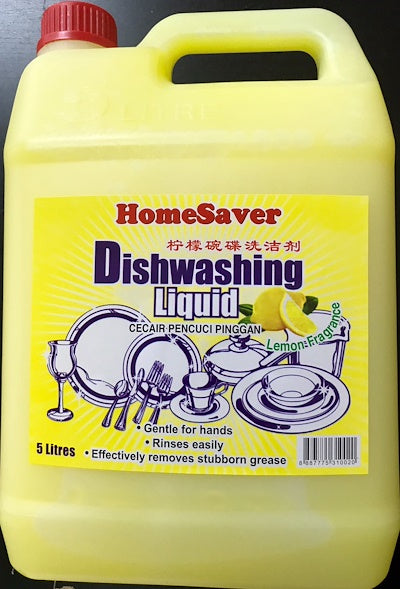 Home Saver - Dishwashing Liquid Detergent (5L)