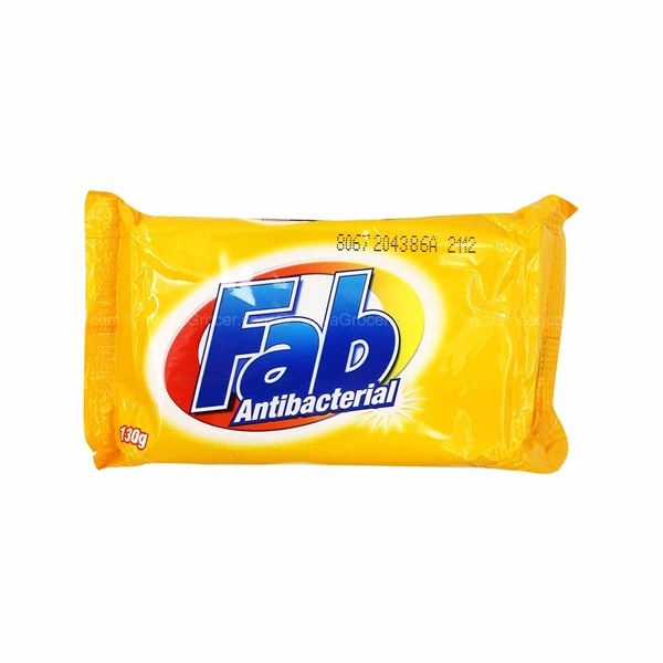 Fab - 3 packets x Laundry Bar Soap (yellow) (130g)