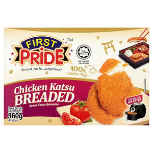 First Pride - Chicken Katsu Breaded  (4 Pieces 360g)