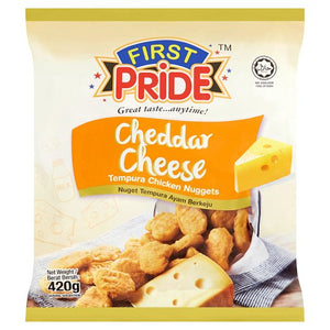 First Pride - Cheddar Cheese Tempura Chicken Nuggets (420g)