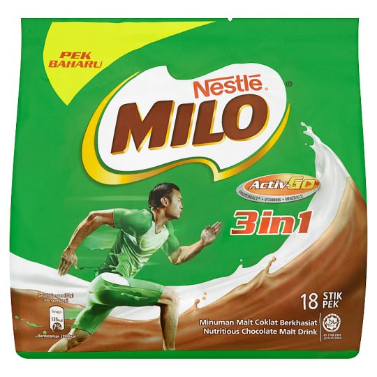 Nestle - Milo 3 in 1 instant Drink (18 sticks)